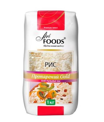 Крупа Art Foods Gold Рис пропарений 1кг