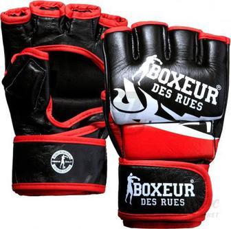 Рукавички для MMA Boxeur BXT-5135 р. M чорний із червоним