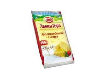 Сир твердий Звенигородський Екстра, 50%  Звенигора   200 г