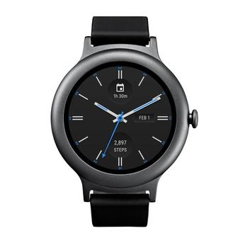 LG W270 Watch Style Smartwatch Titanium (Refurbished)