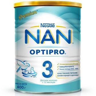 Смесь молочная Nestle NAN 3,400 г/800г