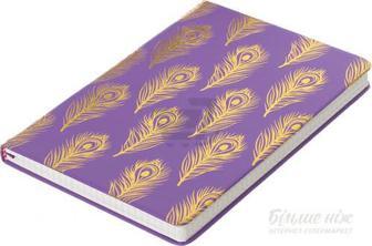 Книга для нотаток Перо 96 аркушів пурпуровий