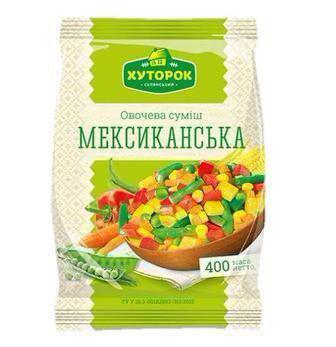 Овочева суміш Мексиканка   Хуторок, 400 г