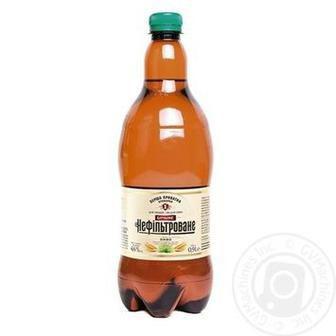 Пиво Бочкове Нефільтроване ППБ 0,9л