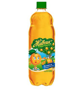Вода Оболонь Живчик Апельсин, 1,5 л