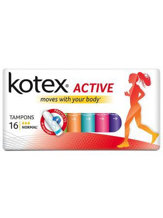 Тампоны Kotex Active нормал №16