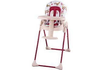 Стільчик для годування BabyOno 265/01 Червоний з єнотом