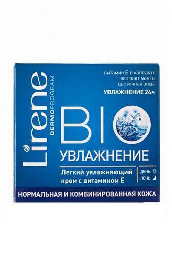 Крем Lirene BIO Увлажнение для норм/комб кожи 50мл