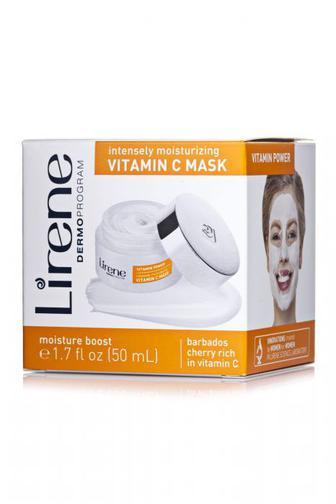 Маска для лица Lirene Витаминная увлажняющая, 50 мл