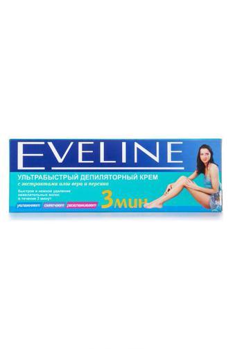 Крем для депиляции Eveline Cosmetics 3 мин Персик-Алоэ, 100мл