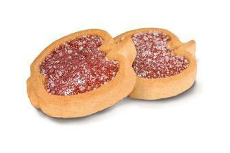 Печиво Деліція Райські Яблучка з апельсиновим/вишневим желе 100г