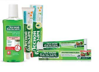 Зубні пасти, ополіскувачі ротової порожнини Лесной Бальзам
