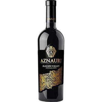 Вино Алазанська долина червоне напівсолодке 0,75л Азнаурі