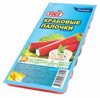 Крабові палички охолоджені VICI 240 г