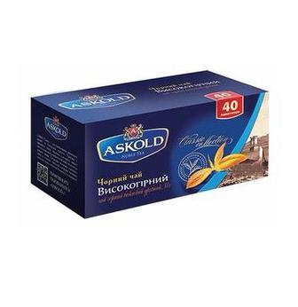 Чай чорний Аскольд 40пак
