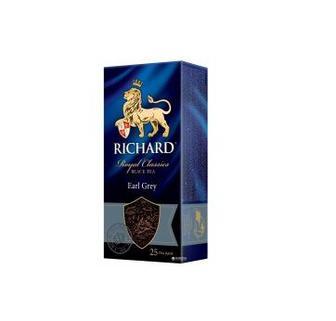 Чай чорний Richard Earl Grey/Lame Mint 25пак