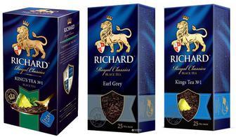 Чай Річард в пакетиках 25шт