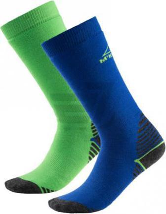 Шкарпетки McKinley Rob jrs 2-pack McK р. 27-30 синьо-зелений