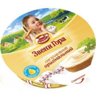 Сыр-крем плавленный Звени Гора 90г