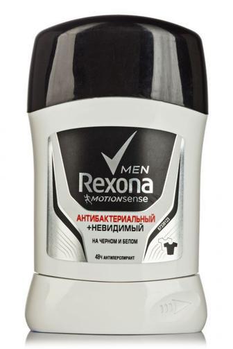 Антиперспирант Rexona стик мужской Антибактериальний та невидимий 50мл