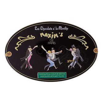 Maxim's de Paris мятные конфеты покрыты темным шоколадом