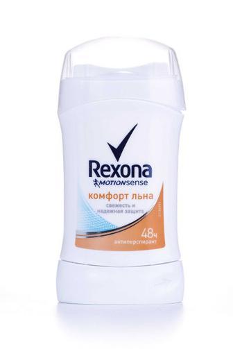Дезодорант Rexona стик женский Комфорт льна, 40мл
