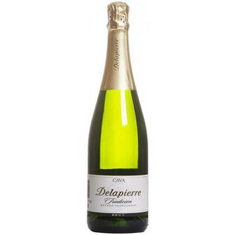 Вино ігристе Cava Delapierre Tradicion біле брют 0,75л