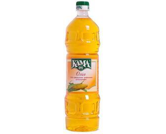 Олія кукурудзяна «Кама» рафінована дезодорована, 1л