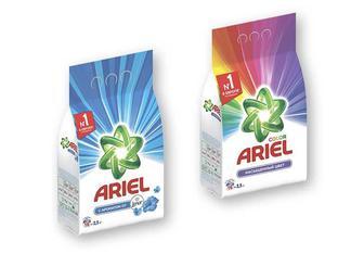 Засіб миючий синтетичний порошковий Touch of Lenor Fresh/ Color, автомат, 2,5 кг Ariel