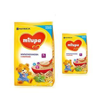 Дитячі молочні каші Мілупа 210 г
