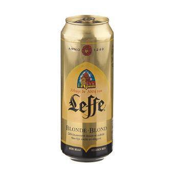 Пиво Брюн блонд Леф 0,5 л