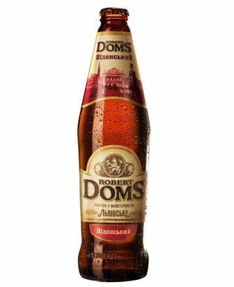 Пиво Роберт Домс Львівське, 0,5 л