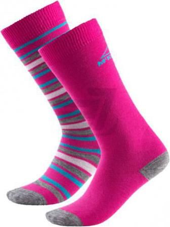 Шкарпетки McKinley Rigo jrs 2-pack McK 205956-903915 р. 31-34 рожевий