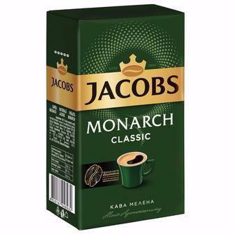 Кава Jacobs Monarch Intense/Класична мелена 230г