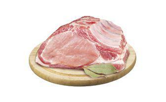 Корейка свиняча з кісткою напівфабрикат 1 кг