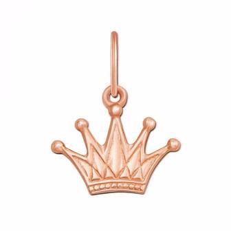 Золотая подвеска Корона. Артикул 3737