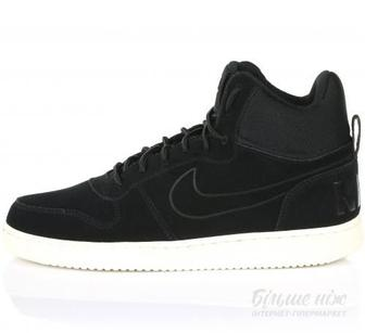 Кросівки Nike Court Borough Mid Prem 844884-007 р. 11.5 чорний