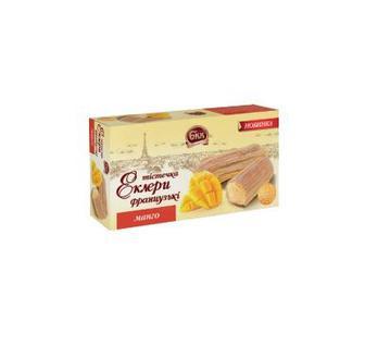 Тістечко еклер французький манго 165гр БКК
