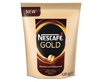 Кава розчинна Nescafe Gold, 120г