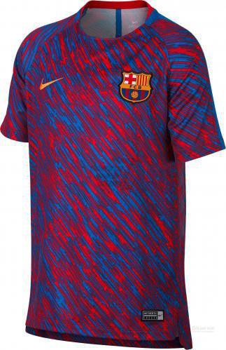 Футболка Nike FCB M NK DRY SQD TOP SS GX 928046-658 L червоний