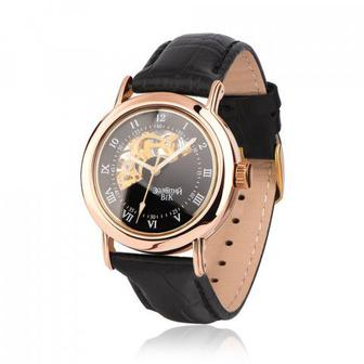 Золотые часы автоматические. Артикул 9116-1/01/0 (9116/ч рч)