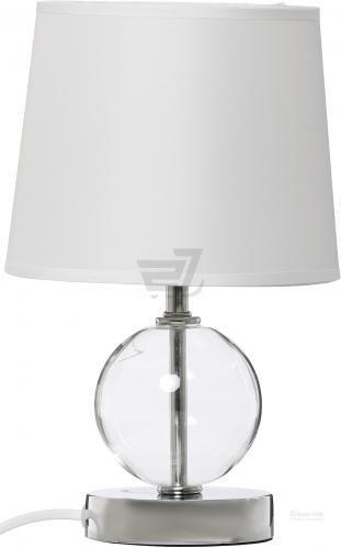 Настільна лампа декоративна Globo Volcano 1x40 Вт E14 білий 21667
