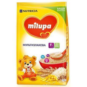 Каша Milupa безмолочная мультизлаковая (с 6 месяцев) 170 г