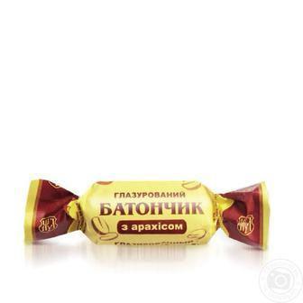 Батончик з арахісом   Житомирські 100 г