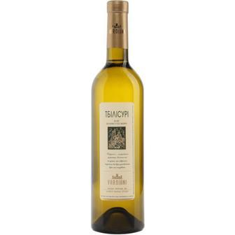 Скидка 25% ▷ Вино Тбілісурі біле напівсухе, Маграні червоне сухе Вардіані 0,75 л