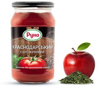 Соус Краснодарский фирменный Руна 485г