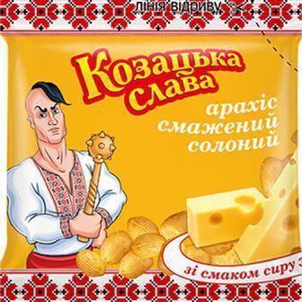 Горішки сол. зі смак. сиру, пива Козацька слава 30 г
