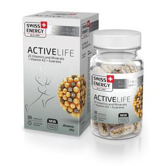 Витамины в капсулах Swiss Energy ActiveLife №30
