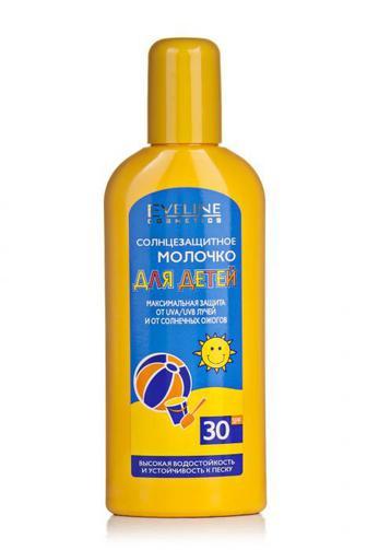 Молочко солнцезащитное Эвелин Сан д/детей Ф30 150мл