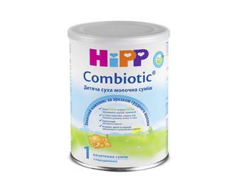 Суміш суха молочна, гіпоалергенна, HiPP Combiotic, 1, 350 г